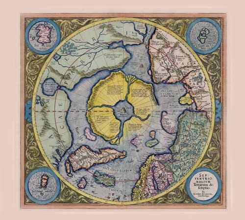 место положения древней атлантиды